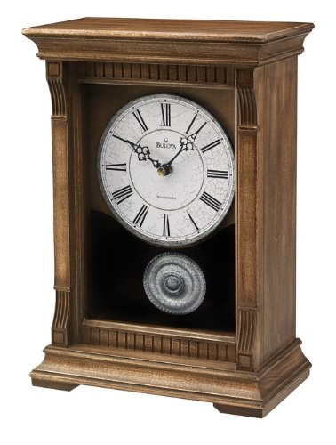 Bulova Warrick III Mantel Clock -  B7663