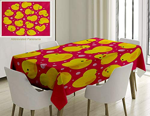Unique Custom Cotton and Linen Blend Tablecloth Rubber for sale  Delivered anywhere in Canada