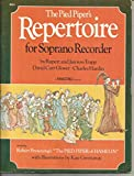 img - for The Pied Piper's Repertoire for Soprano Recorder book / textbook / text book