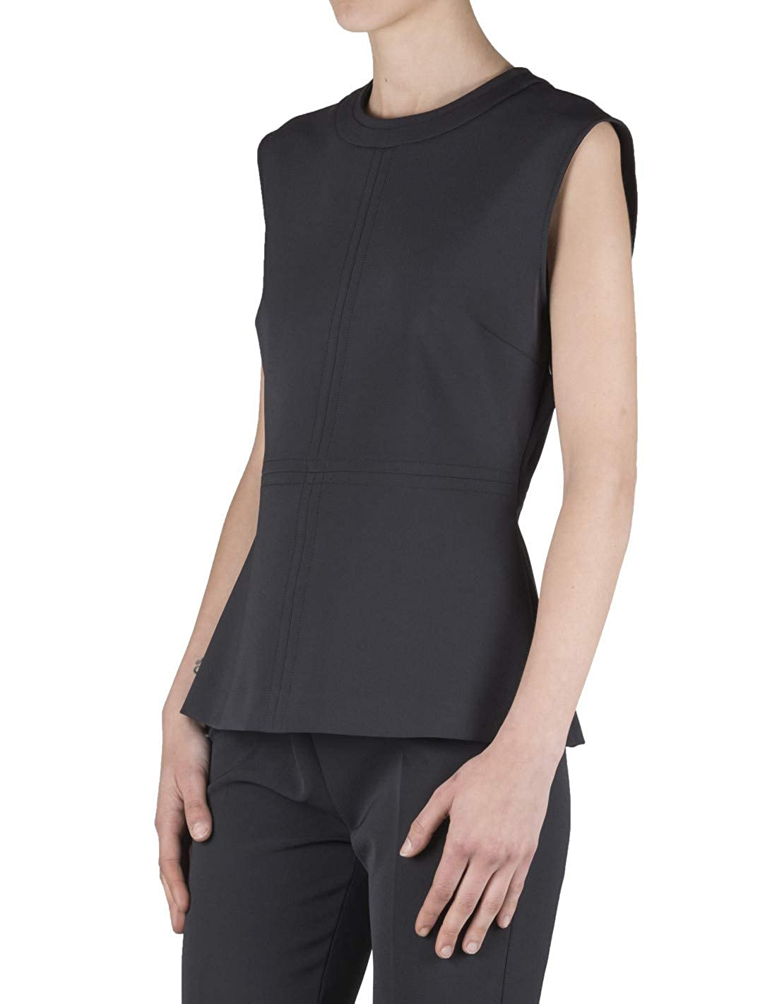 FIT Made in Italy Top Woman Black 402316 012950 TOP Nero Spring//Summer 2019-330972002-