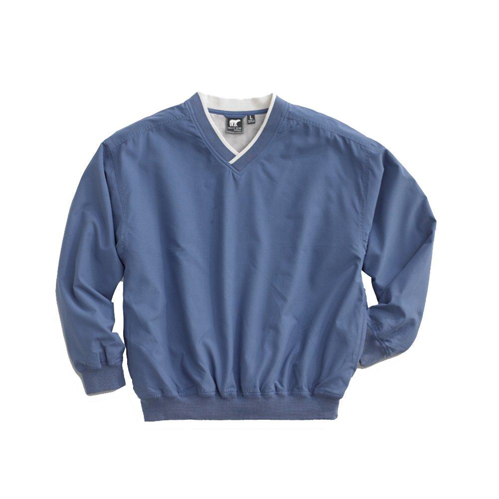 White Bear Men's Microfiber Windshirt, X-Large, Atlantic Blue
