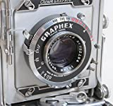 GRAFLEX CROWN GRAPHIC 2 1/4 X 3 1/4 CAMERA W/101MM F 4.5 OPTAR LENS