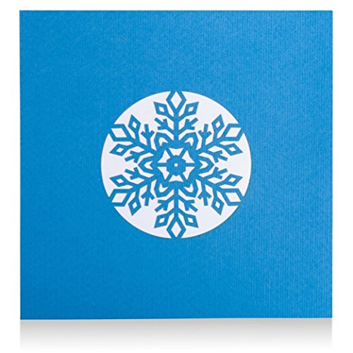 Snowflake Pop Up Christmas Card