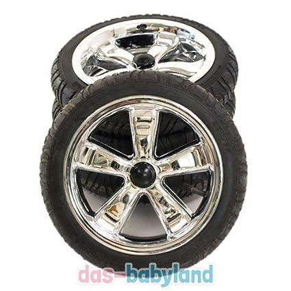 Adbor 4 ruedas/Neumáticos para carrito, Cochecito, Zwilling ...