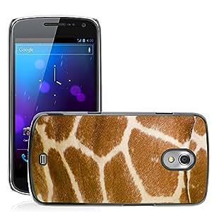 Super Stella Slim PC Hard Case Cover Skin Armor Shell Protection // M00105506 Skin Pattern Profile Isolated Neck // Samsung Galaxy Nexus GT-i9250 i9250