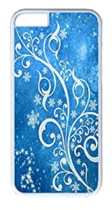 ACESR Blue Winter iPhone 6 Hard Shell Case Polycarbonate Plastics Custom Case for Apple iPhone 6(4.7 inch) White