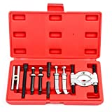 MINI 9pc Bearing Puller Separator Set 30-50mm Pull Out Jaw Gear Pulley Removal,NEW