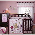Disney Dandelion Dreamer 4 Piece Crib Bedding Set, Mulberry/Pink (Discontinued by Manufacturer)