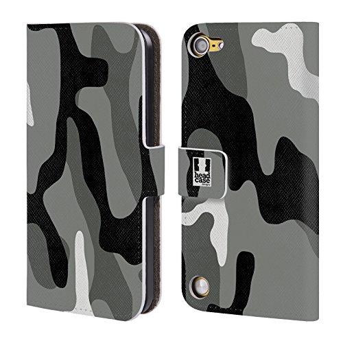 Head Case Designs Turno Di Notte Fantasia Militare Cover a portafoglio in pelle per iPod Touch 5th Gen / 6th Gen