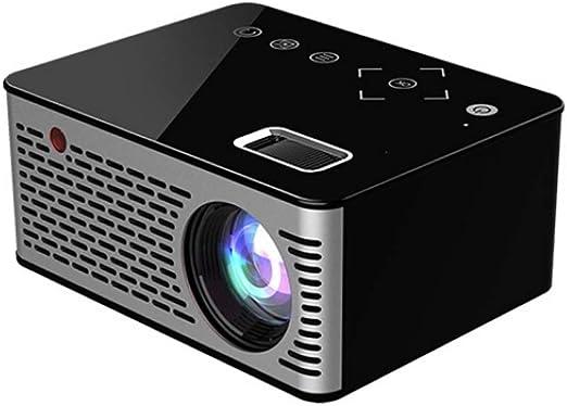 Projector Home Mini Home Pequeño proyector de Cine en casa HD ...