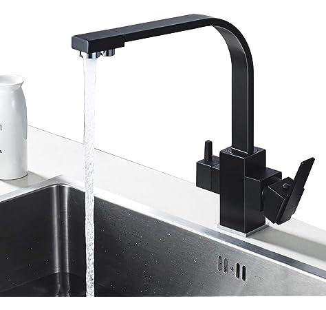 GRIFEMA Dover - Grifo de cocina osmosis, 3 en 1 para purificador ...