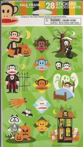 Paul Frank Monkey Stickers ()