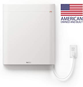 Envi High-Efficiency Whole Room 120v Plug-In Electric Panel Wall Heater