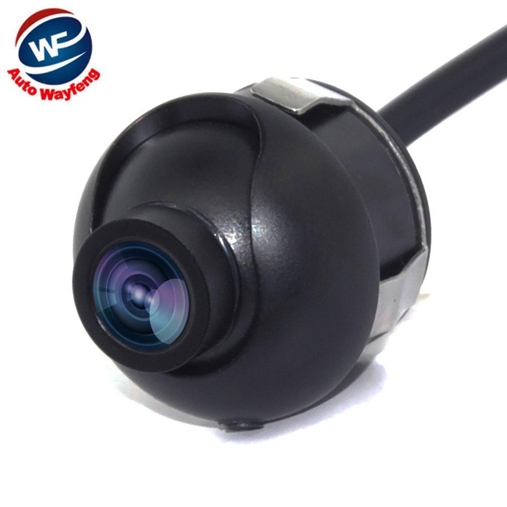 Auto Wayfeng WF/® Universal Mini CCD de alta definici/ón de visi/ón nocturna 360 grados de c/ámara retrovisora con c/ámara de reserva con l/íneas de gu/ía de estacionamiento de imagen de espejo
