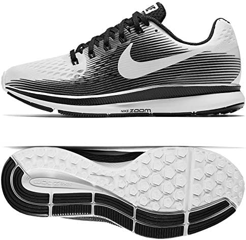 Nike WMNS Air Zoom Pegasus 34 LE 883269-100 White Black Women s Running Shoes
