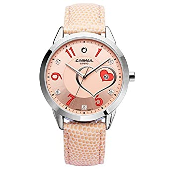 Casima Orange Leather Girls Watch Brands List 2601 Sl6 All Rights