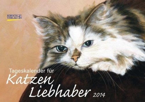 Tageskalender für Katzenliebhaber 2014
