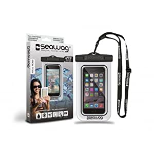 Seawag-Funda estanca e impermeable para smartphone, color negro/blanco Z30 para Blackberry