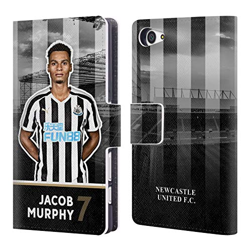Murphy Wallet Compact (Official Newcastle United FC NUFC Jacob Murphy 2018/19 First Team Group 1 Leather Book Wallet Case Cover for Sony Xperia Z5 Compact)