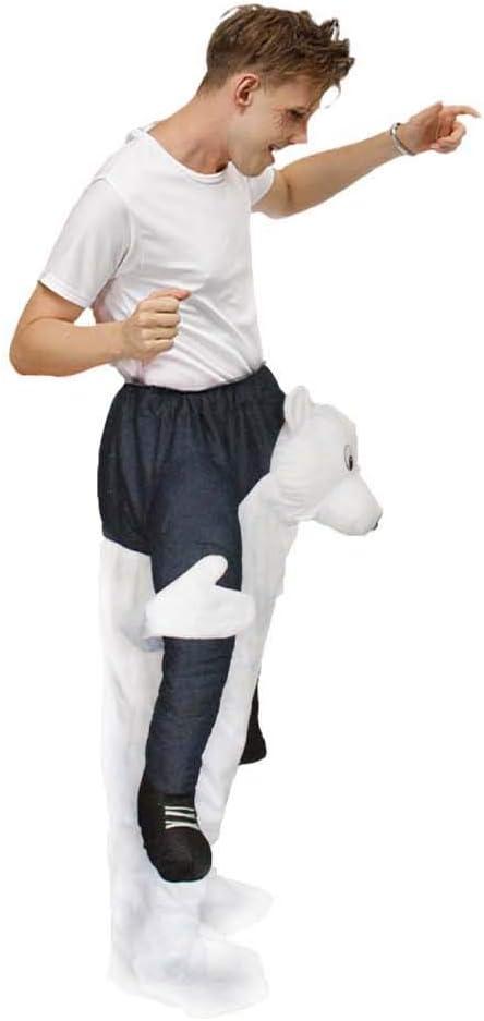 Leezeshaw Disfraz de Halloween para adultos, con texto en inglés