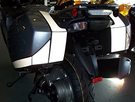 Concours 14 / GTR1400 Rear & Side Bag Decal - Reflective Black