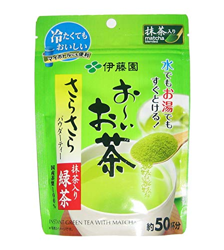 Itoen Oi Instant Green Tea Powder with Matcha From Japan 40g (50 Cups) Ooi Fast Shipping and Ship Worldwide