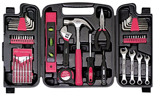 Apollo Tools DT9408P 53 Piece Household Tool Set with Wrench