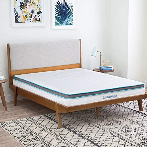 home, kitchen, furniture, bedroom furniture, mattresses, box springs,  mattresses 12 discount Linenspa 8 Inch Memory Foam and Innerspring Hybrid deals