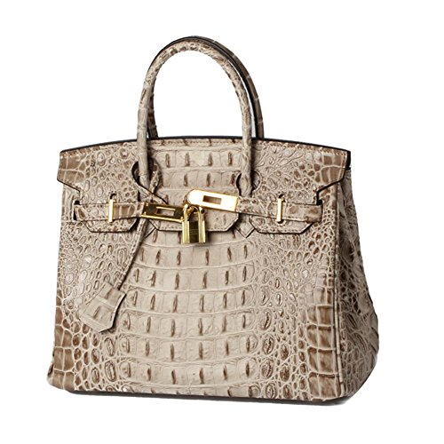Lalagen Crocodile Embossed Clearance Handbags