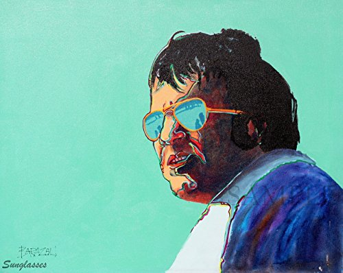Giclee Print of Original acrylic painting - Sunglasses