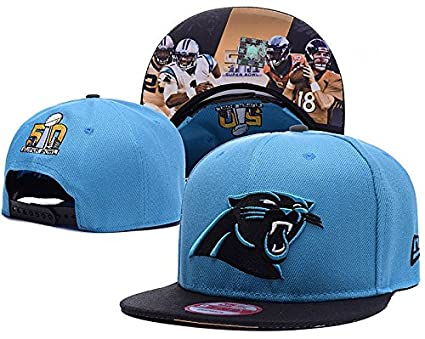 NFL 2016 Sport Game Blue Super Bowl 50 Hat SD - Carolina Panthers ... 0157b9b18