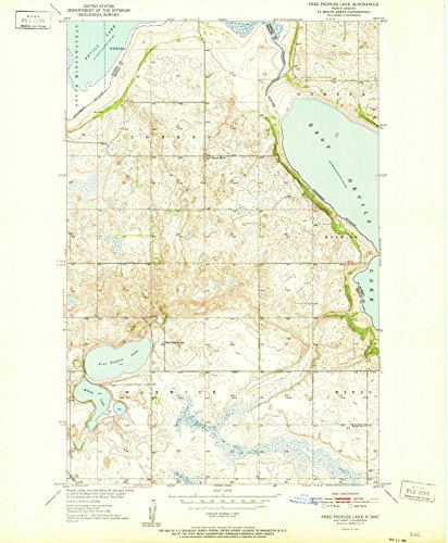 north-dakota-maps-1951-free-peoples-lake-nd-usgs-historical-topographic-map-24in-x-30in