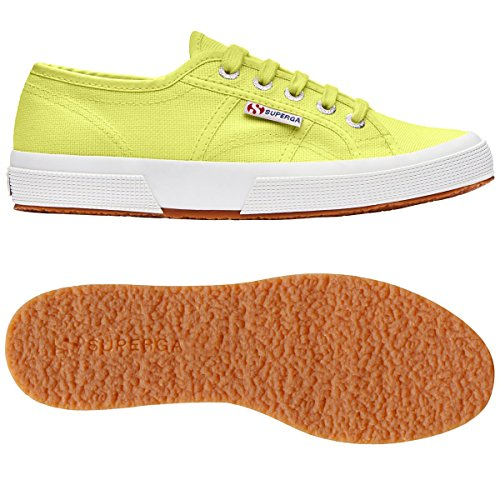 Unisex Sunny Adulto Cotu 2750 Green Sneakers Classic Superga Lime 0xIHqT0