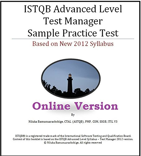 ISTQB Advanced Level - Test Manager Online full length practice exam (Advanced Level Test Manager Istqb compare prices)