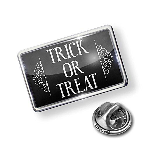 Pin Trick or Treat Halloween Haunting Flourish - NEONBLOND