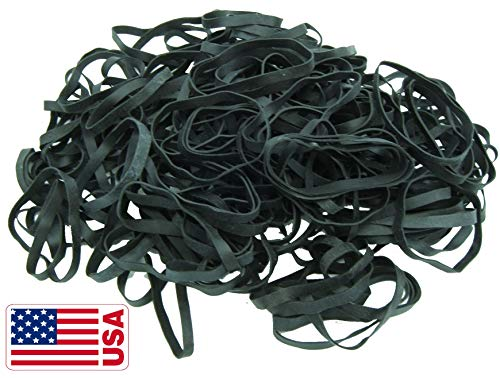 - Black High Heat UV Resistant #64 Platinum Crepe Rubber Band Made in USA (3 1/2
