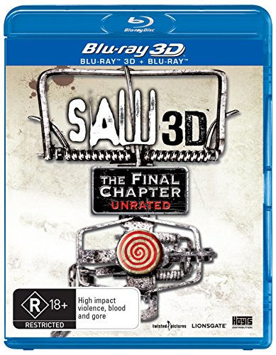 Saw The Final Chapter 3D Blu-ray / Blu-ray