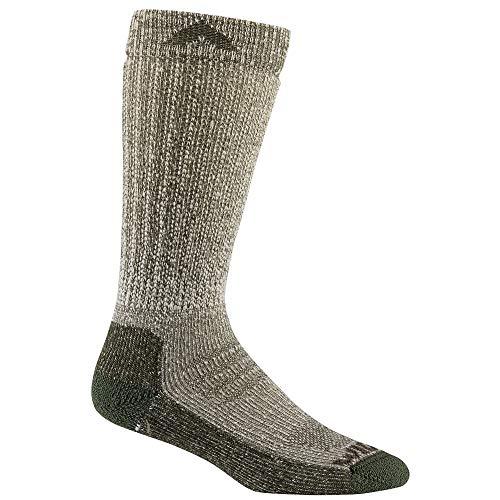 Wigwam F2432 Women's Merino Woodland Socks, Loden - LG (Green Loden Wool)