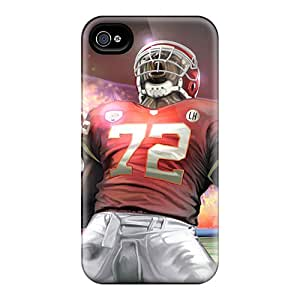 Iphone 4/4s Cover Case - Eco-friendly Packaging(kansas City Chiefs)