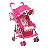 Adora Doll Accessories 3-in-1 Stroller, Car Seat, Back Pack Carrier, Perfect for Kids 3 years & up