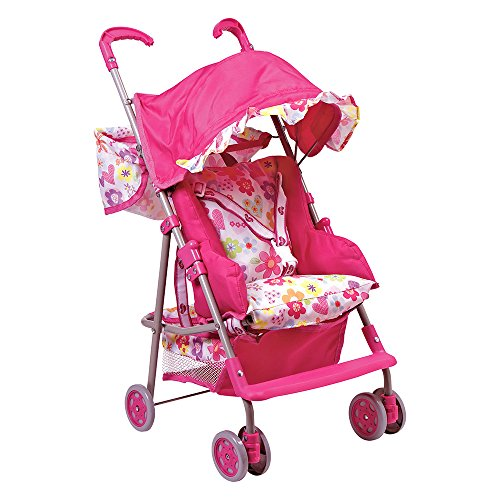 Adora Doll Accessories 3-in-1 Stroller, Car Seat, Back Pack