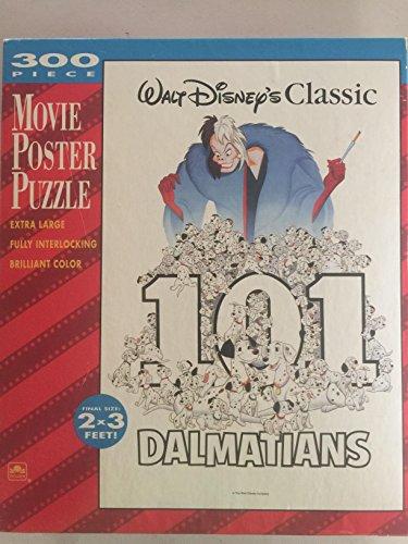 (Walt Disney Classic 101 Dalmatians 300 Piece Movie Poster Puzzle)