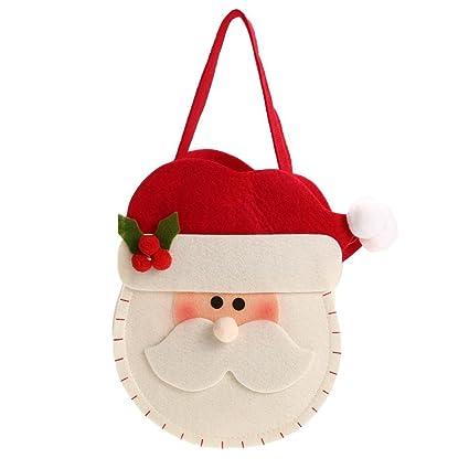 mikolotuk Decoraciones navideñas Bolsas navideñas Bolsas de ...