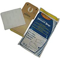 18x Style R vacuum bags + 3x filters fit Electrolux Renaissance, Guardian, Lux 9000, Epic 8000 Canister Series