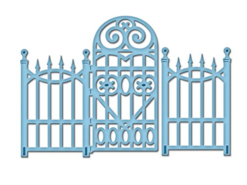 - Spellbinders S2-080 Die D-Lites Garden Gate Etched/Wafer Thin Dies