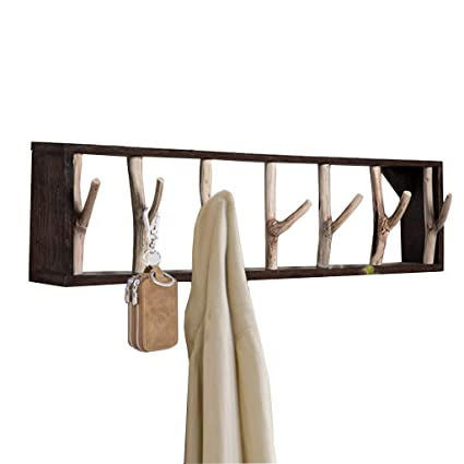 Amazon.com: ZRX-Coat Racks Hangers Coat Rack Bamboo Clothes ...