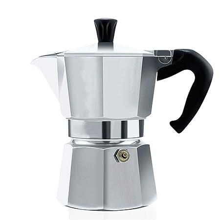 HEYU-Moka Olla Moka Italiana, cafetera Espresso Lavada a Mano en ...