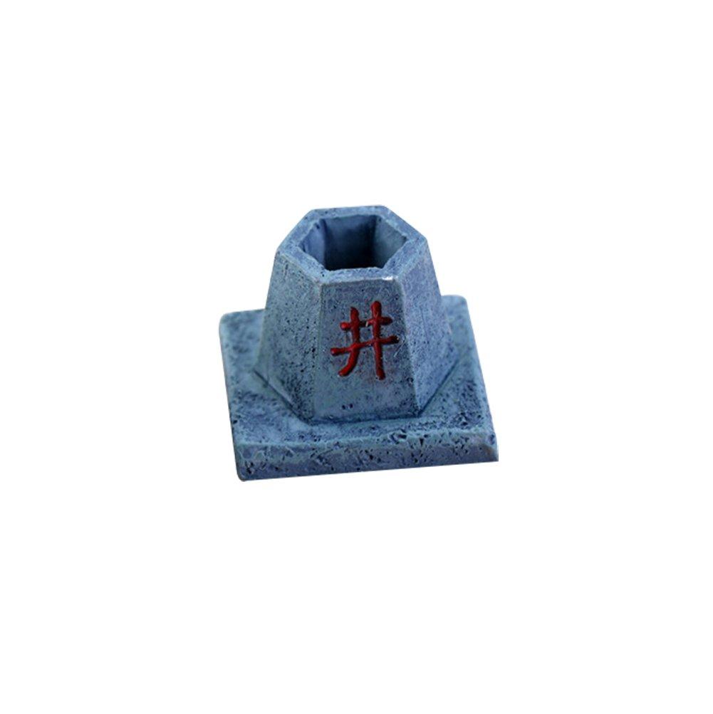 dise/ño de casa de mu/ñecas Cupcinu Wishing Well Figura decorativa en miniatura para jard/ín de hadas