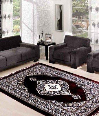 SRS Maroon Ethnic Design Carpet (5*7ft) (Maroon, 5 x 7): Amazon.in: Home & Kitchen