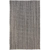 Bacova Guild 77834 Marbella Texture Stripe Rug, 48 x 28, Texture Stipe Gray